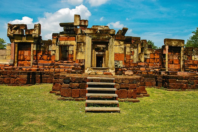 Temple Ruins, Khorat, Thailand