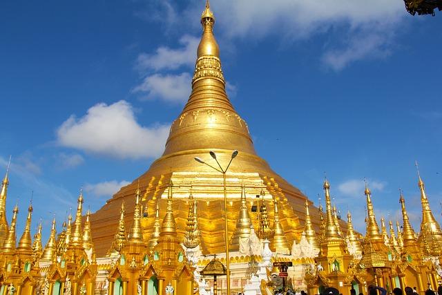 Golden Temple, Temple, Pagoda, Shwedagon Pagoda, Yangon