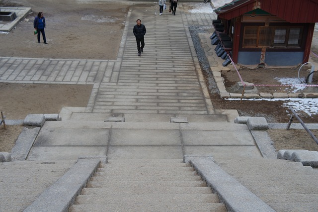 Stone Steps, Temples Way, Temple, Jiri