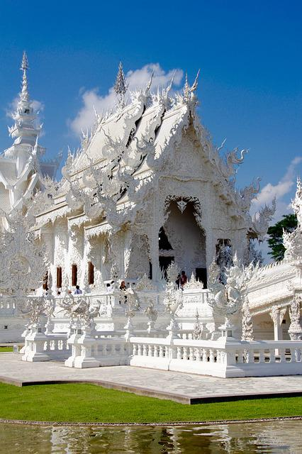 Wat Rong Khun, Temple, Thailand, White Temple