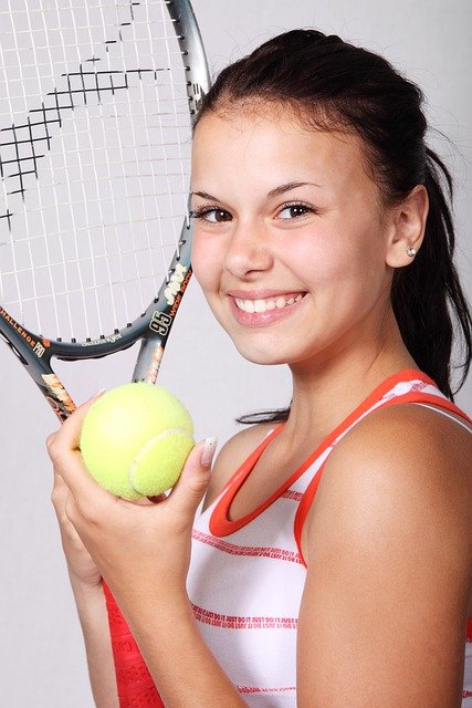 Tennis, Sports, Girl, Fitness, Ball, Active, Exercise