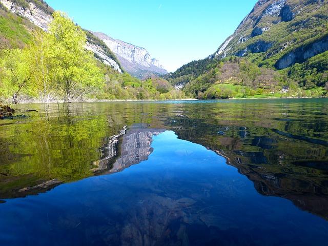 Tenno Lake, Lago Di Tenno, Italy, Lake, Water
