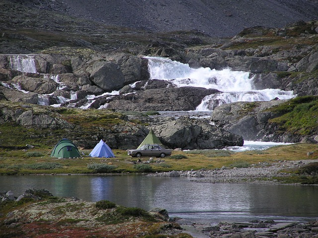 Tent Camp, Koldå, Jotunheimen