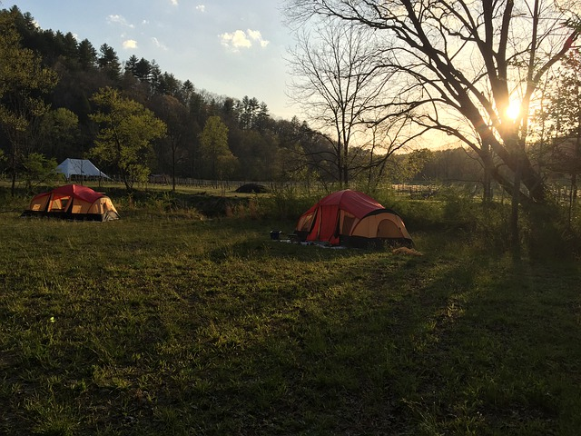 Camping, Tent, Outdoors, Northeast Georgia, Ellijay