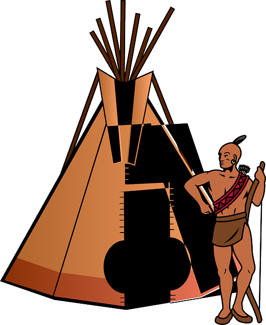 Tent, Teepee, Home, Thanksgiving, People, Indian, Tribe