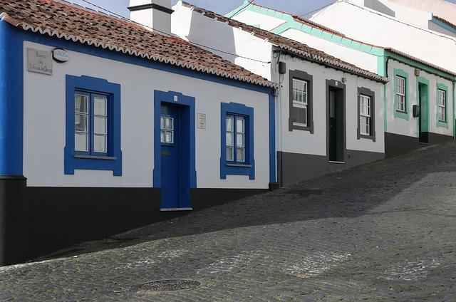 Portugal, Azores, Terceira, Island, Architecture