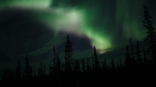 Aurora, Northern Lights, Teriberka