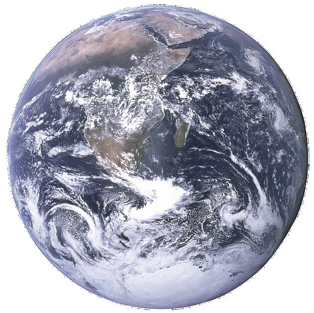 The Earth, Terrestrial Globe, Planet