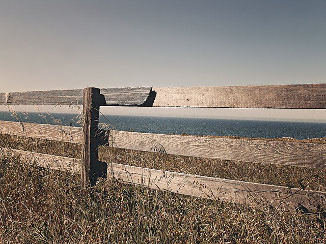 Fence, Wooden, Border, Territory, Property, Fencing