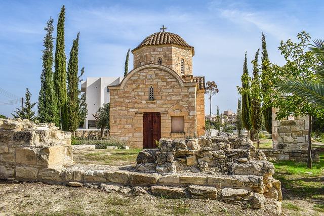 Cyprus, Tersefanou, Ayios Dimitrianos, Church
