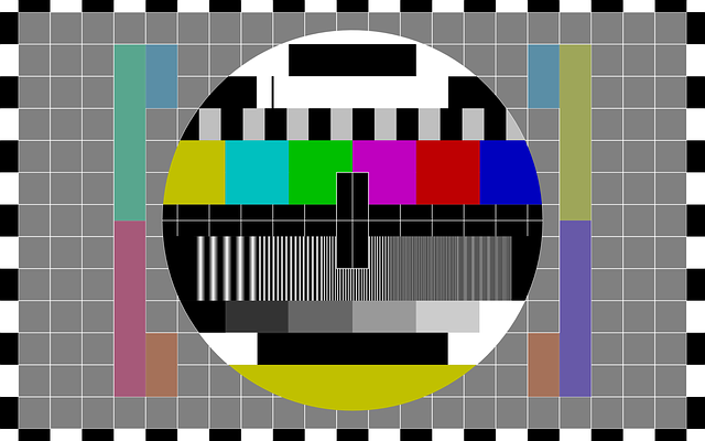 Test Pattern, Tv, Tv Test Pattern, Television