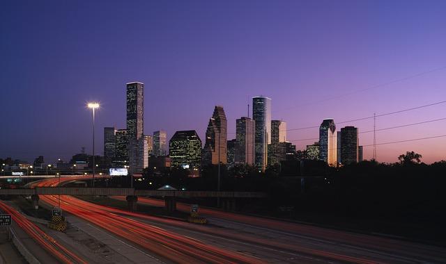 Houston, Texas, Usa, Building, Skyscraper