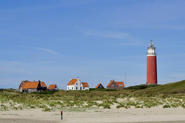 Lighthouse, Texel, Holland, Netherlands, North Sea