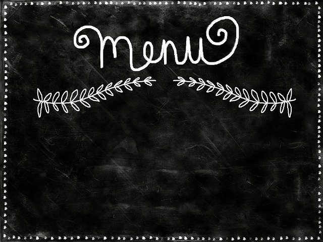 Background, Chalkboard, Black, Copyspace, Text, Menu
