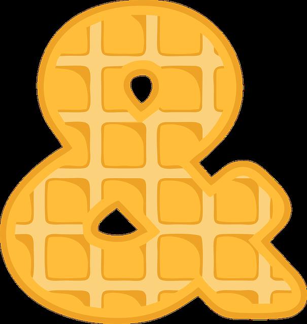 Alphabet, Waffle, Letter, Typography, Text, Font, Abc