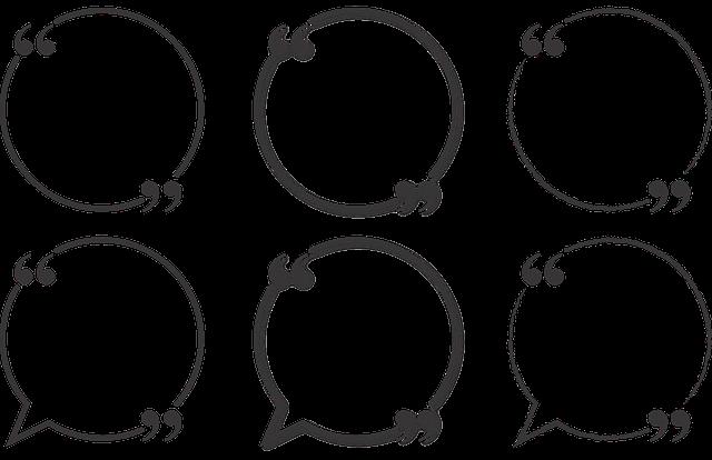 Quote, Bubble, Circle, Talk, Text, Comment, Speech