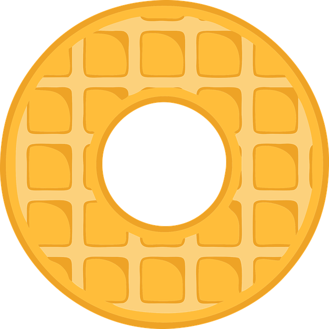 O, Alphabet, Waffle, Letter, Typography, Text, Font