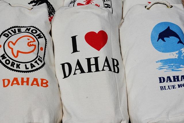 Dahab, Love, Texture, Heart, Souvenir, Bag, Textile