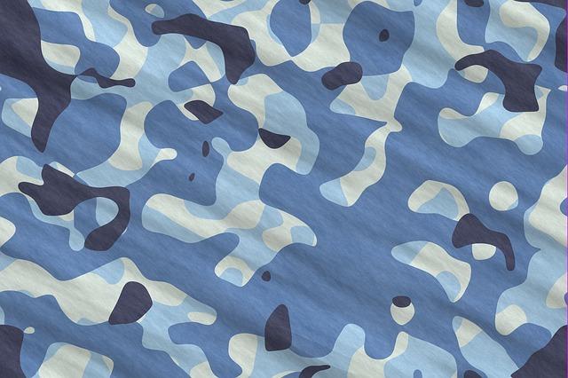 Tarn, Blue, Pattern, Camouflage, Urban, Texture