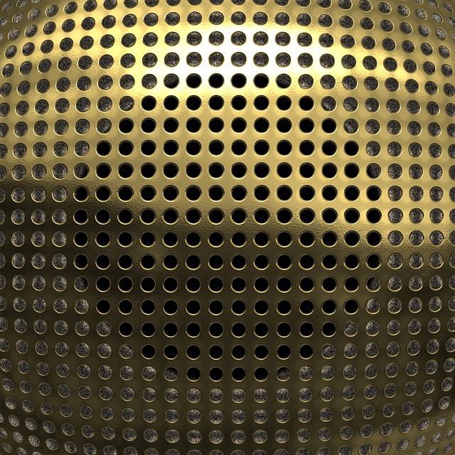 Background, Texture, Metal, Speaker, Grid
