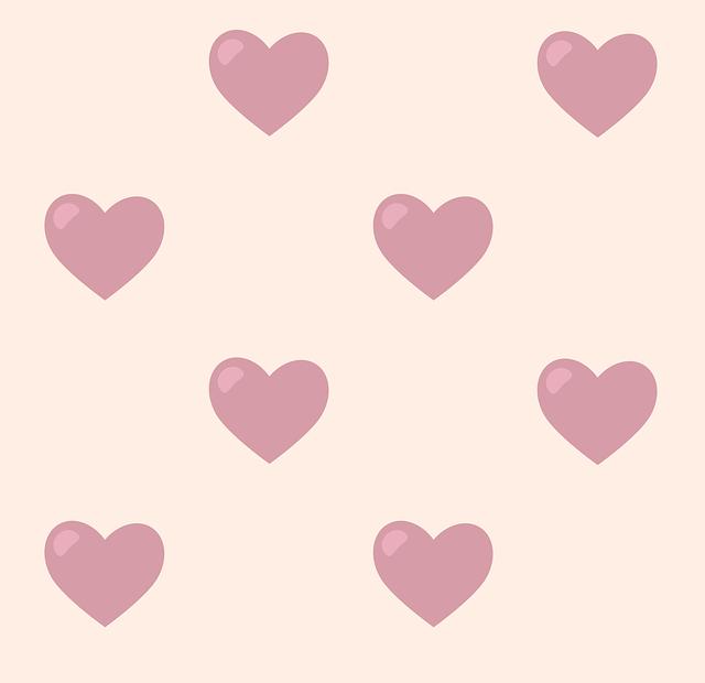 Pattern, Hearts, Romantic, Background, Romance, Texture