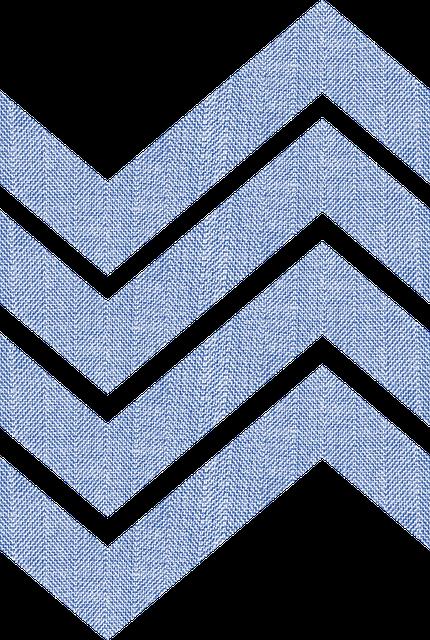Fabric, Chevrons, Blue, Herringbone, Pattern, Texture