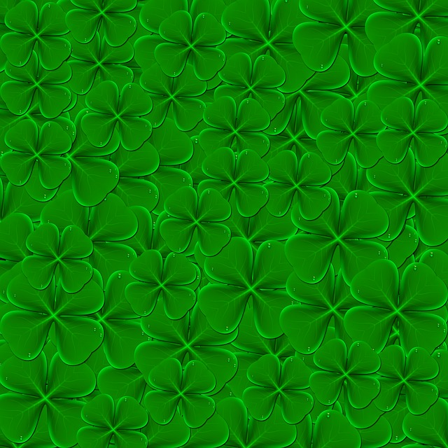 Leaf, Clover, Background, Green Background, Texture
