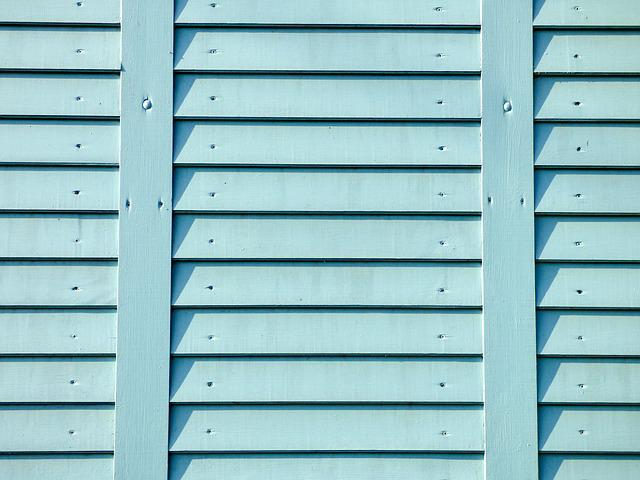 Background, Wood, Light Blue, Fence, Texture, Design