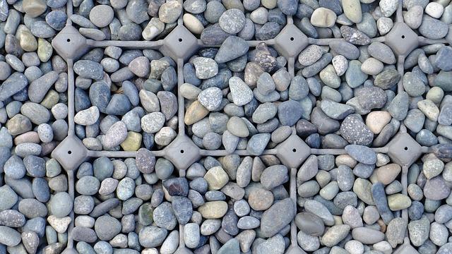Gravel, Grey, Macro, Storage, Texture, Grain
