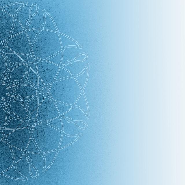Background, Mandala, Pattern, Geometry, Blue, Texture