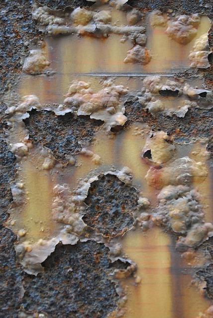 Texture, Rust, Brown, Orange, Peeling Paint