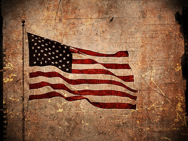American Flag, Textured, Rough, Harsh, Coarse, Texture