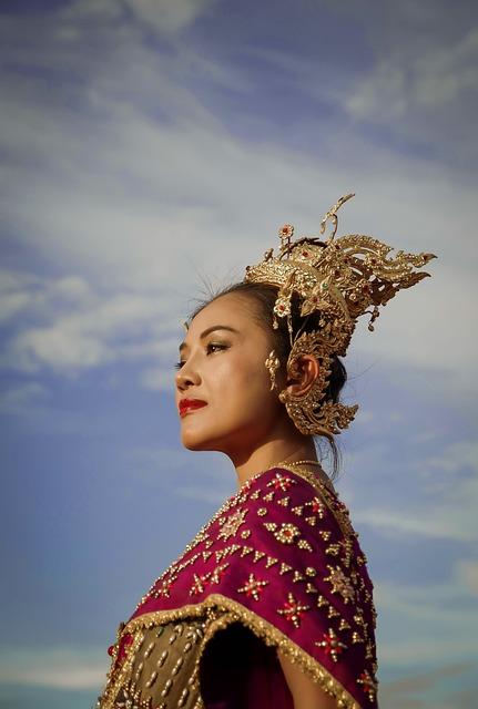 Thai, Thailand, Old, Concept, Colorful, Woman, Theme