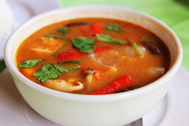 Thai Curry, Green Curry, Curry, Chili, Hot, Spicy