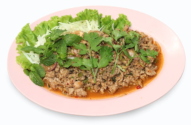 Thaifood, Pork Yum, Yum