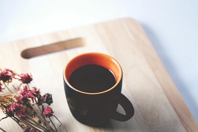 Coffee, Thailand, Black Coffee, Flower, Black, Fresh