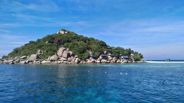 Koh Nang Yuan, Island, Thailand, South Sea, Sea