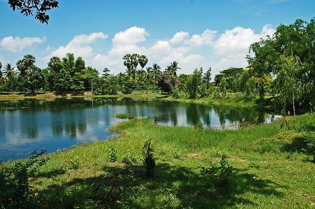 Little Lake, Khorat, Thailand, Landscape