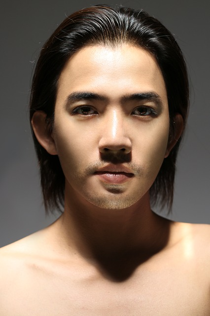 Stand Alone, Face, The Person, Men's, Thailand, Model