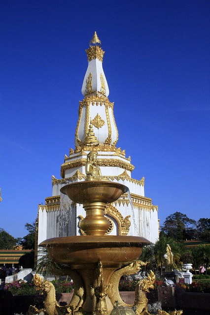 Temple Complex, Nong Phok District, Thailand