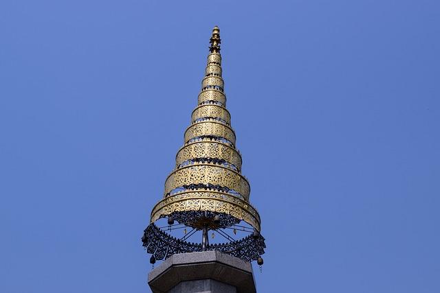 Pinnacle, Gold Pinnacle, Chaing Mai, Thailand