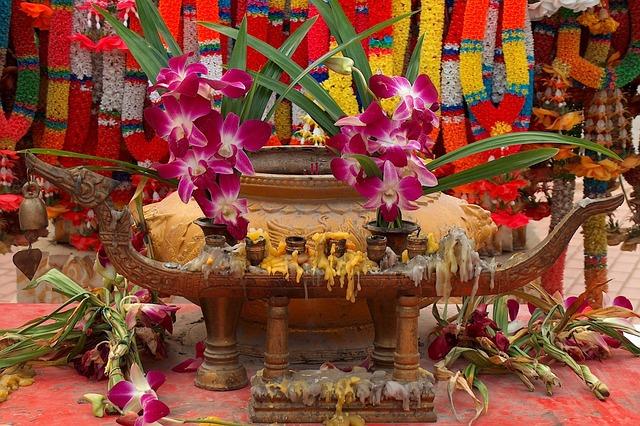 Sacrifice, Buddhism, Orchid, Thailand