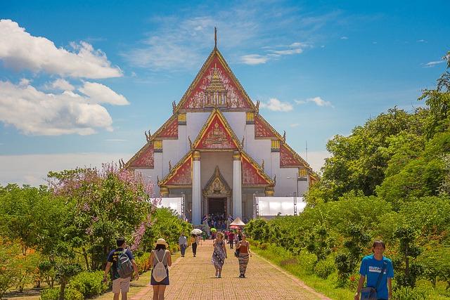 Thailand, Thailand Sightseeing, Thailand Temple