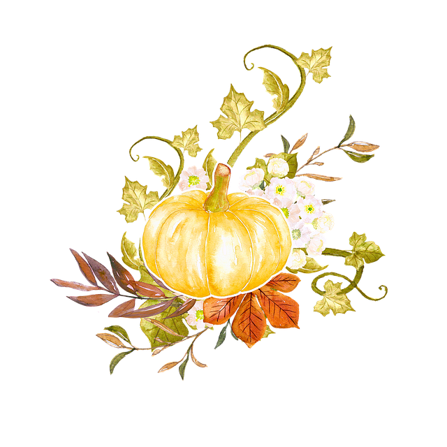 Thanksgiving, Autumn, Ornamental, Element, Fall Leaves