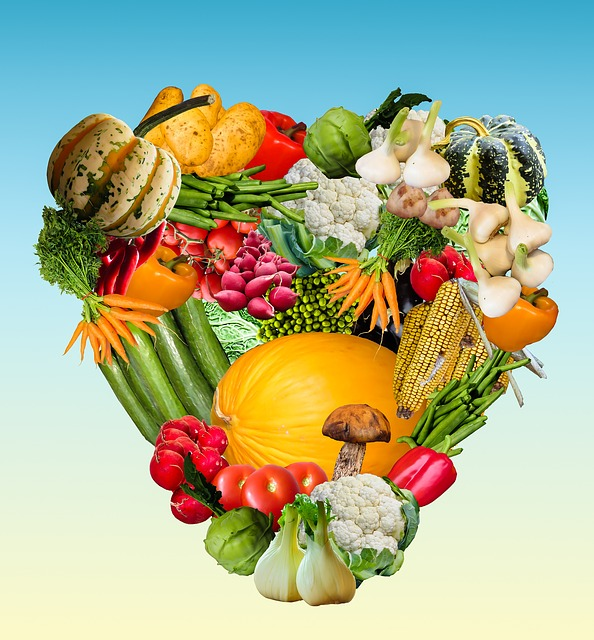 Heart, Vegetables, Harvest, Thanksgiving, Autumn
