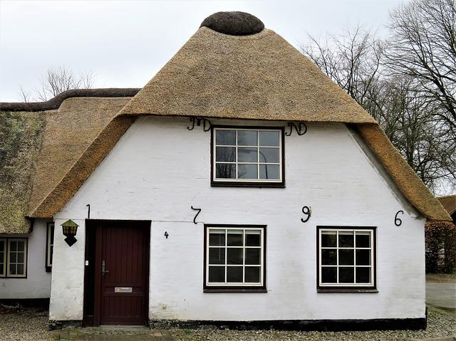 Thatched Cottage, Danish House, Protected Monument, 18