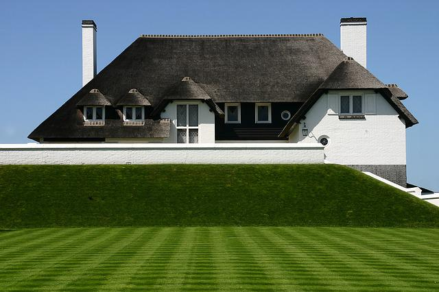 Home, Thatched Roof, Green Lawn, Baltic Sea, Thatched