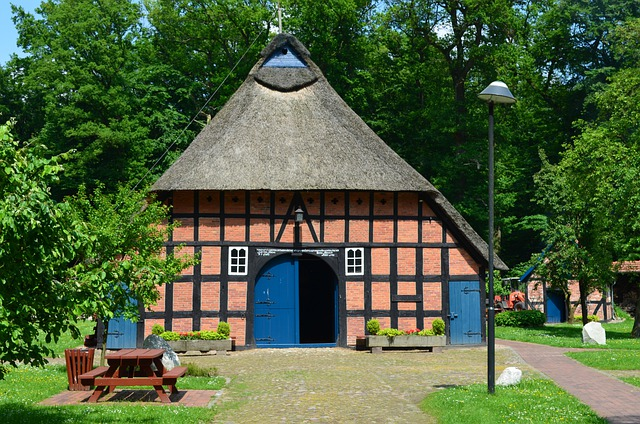 Heimathaus, Forsthaus, Truss, Thatched Roof