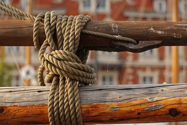 Thaw, Mooring, Wooden Mast, Traditional Ship