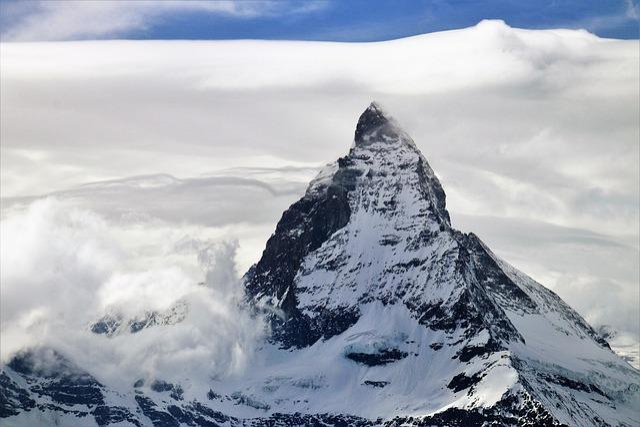 Matterhorn, Zermatt, The Alps, Switzerland, Winter